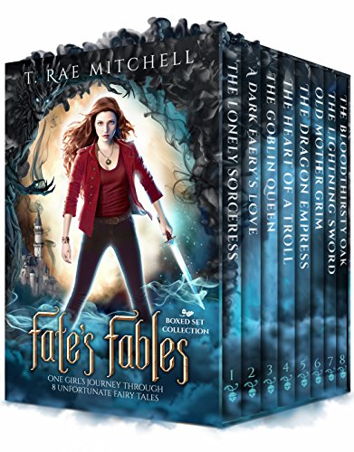 Fate's Fables Box Set Collection: One Girl's Journey Through 8 Unfortunate Fairy Tales (Fate's Journey Book 1) by [Mitchell, T. Rae]