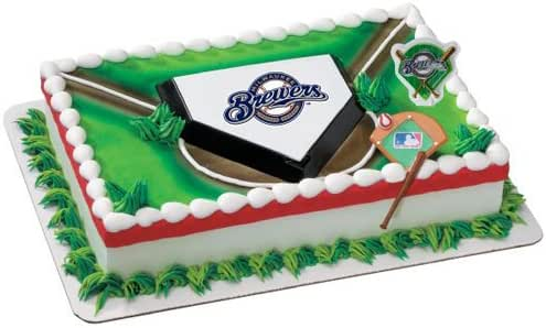 Amazon.com: MLB Milwaukee Brewers Cake Decorating Kit