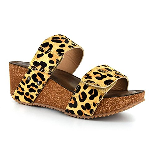 Corkys Wild Thing Women's Sandal 7 B(M) US Leopard