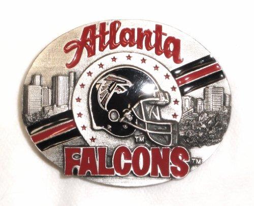 (Atlanta Falcons Official NFL Licensed Belt Buckle Limited Edition)