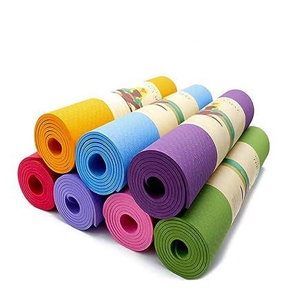 BOSSCHONG TPE Tapete De Yoga Antideslizante Multiusos ...