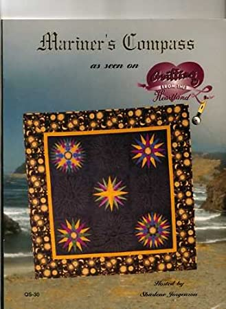 Amazon.com: Mariner's Compass Quilting Templates as seen on ... : quilting from the heartland - Adamdwight.com