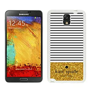 Personalized Popular Design Samsung Note 3 Case Kate Spade New York Phone Case For Samsung Galaxy Note 3 Plastic Cover Case 113 White