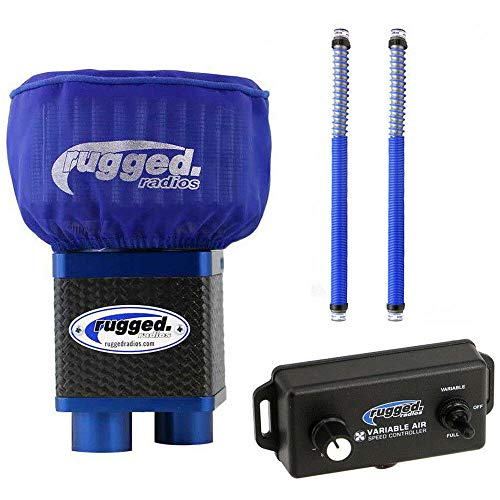 Rugged Radios MAC3.2-Bundle-Plus M3 Extreme Air Dual Helmet Pumper System with 2 Expandable Hoses and Variable Speed Controller