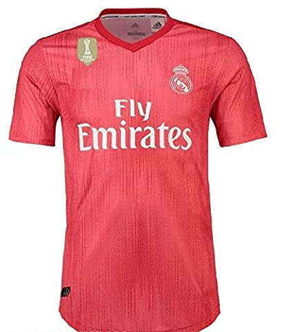 fe7cc1f89 GOLDEN FASHION Non Branded Real Madrid Third KIT Season 2018-19 ONLY Jersey  with Champion