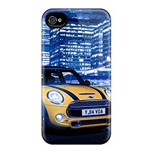 Iphone 4/4s Hard Back With Bumper Silicone Gel Tpu Case Cover Mini Cooper S 2014