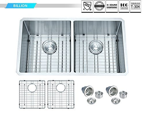 19 Double Equal Kitchen Sink - 1