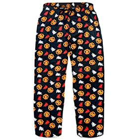 I-S Ltd Men's Manchester United Football Club 100% Cotton Pyjama Bottoms Lounge Wear Pants