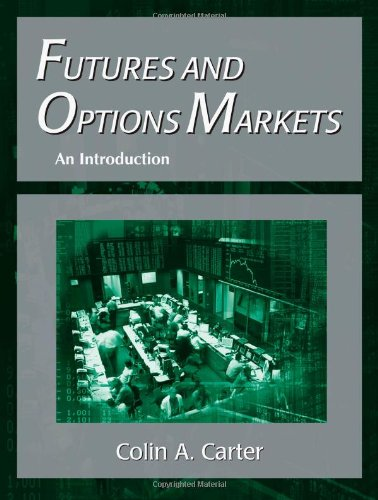 Futures and Options Markets: An Introduction