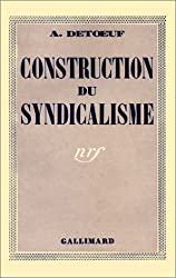 Construction du syndicalisme