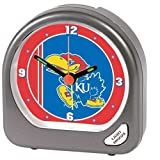 WinCraft NCAA University of Kansas 1800581 Alarm Clock