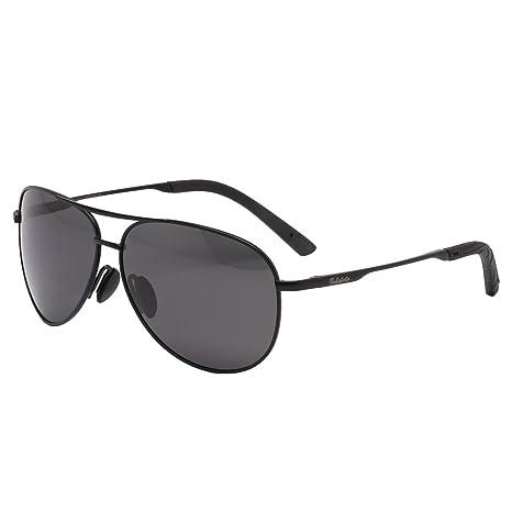 f262e44f0c Men s Polarized Driving Sunglasses For Men Lightweight Frame Black UV400