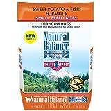 Natural Balance Sweet Potato & Fish Small Breed Bites Dry Dog Food-Salmon-12lb