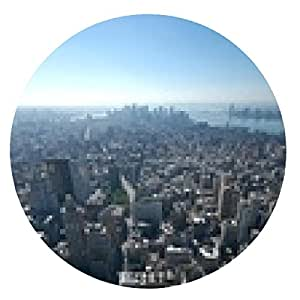 alfombrilla de ratón bajo Manhattan - ronda - 20cm