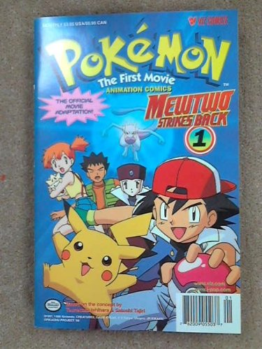 Pokemon The First Movie MewTwo Strikes Back 1 (Mewtwo Strikes Back)