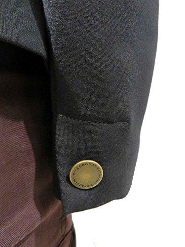 maglia donna pantalone Giacca Aeronautica nero blazer AM1348D felpa Militare t40qFf