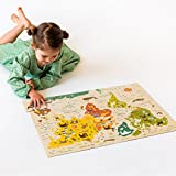 Petit Collage Floor Puzzle, Our World, 24 Pieces