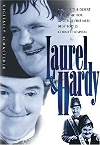 Laurel & Hardy (Sons of the Desert/The Music Box/Another Fine Mess/Busy Bodies/County Hospital)
