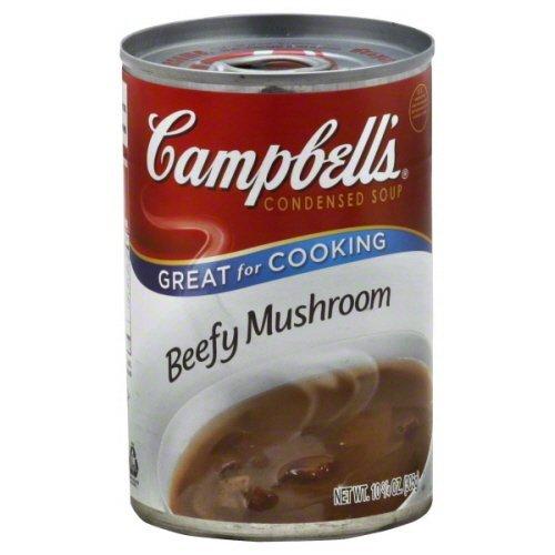 Campbells Beefy Mushroom Condensed Soup 10.5 oz - Pack of 12