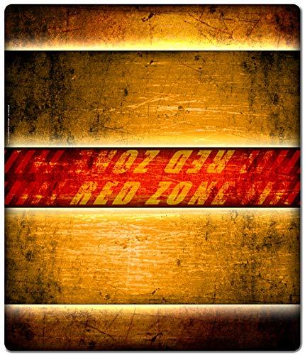 Inked Playmats Pyromaster`s レッドゾーン 2プレーヤーマット インク入り ゲーム MTG ポケモン & 遊戯王マジック ザ・ギャザリング TCG ゲームマット