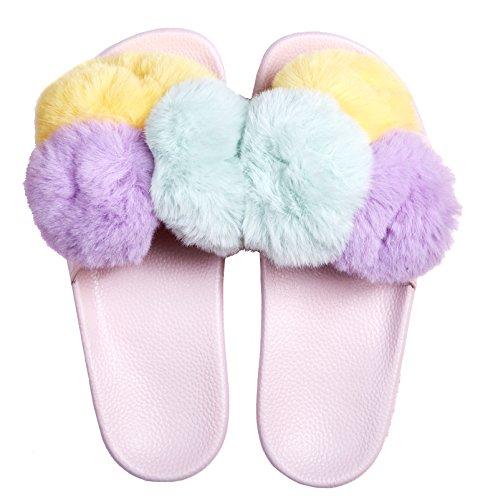 Slydes Shuga Pink Women's Slider Sandals