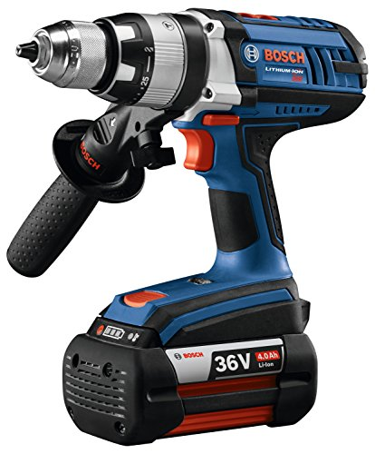 Bosch HDH361-01 36V Hammer Drill/Driver Kit with (2) Fat Pack (4.0Ah) Battery