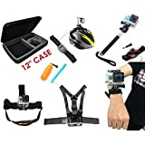 Accessory Bundle Kit Combo For SJ4000, SJ5000, SJCAM Cameras