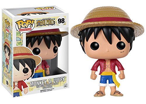 Mozlly Multipack - Funko Animation One Piece Monkey D. Luffy Pop! Vinyl Figure - 3.75 inch Action Figure - Collectible Toy (Pack of 12) - Item #S120077_X12