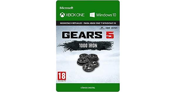 Gears of War 5: 1,000 Iron - Xbox One - Código de descarga: Amazon.es: Videojuegos