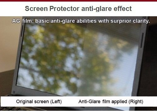 15.6'' Anti-glare Screen Protector for Laptop Notebook 15.6 Inch (345mm * 194mm) by Goliton (Image #2)