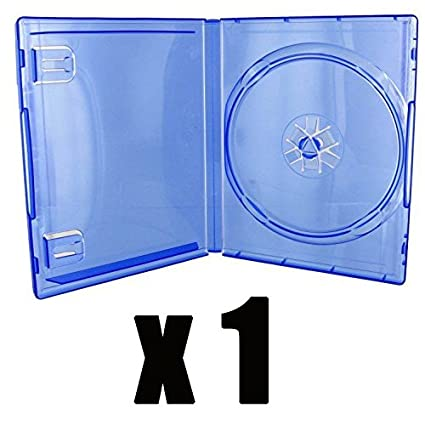 DVD Center - 1 carcasa DVD para juego PS4 en color azul ...