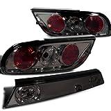 nissan 240sx s13 coupe - Nissan 240Sx S13 Xe Base Se Hatchback Altezza Smoked Lens 3Pcs Tail Lights