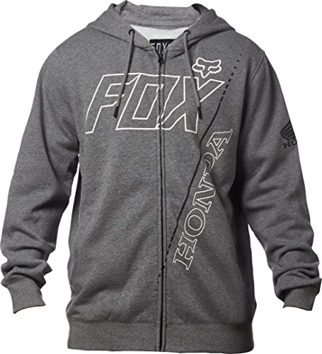 Fox Racing Men's Honda Fleece Hoody,Small,Heather ()