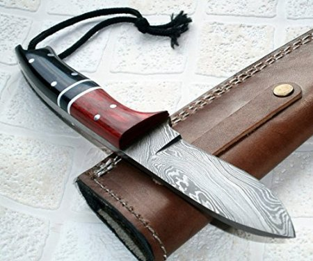 BC-119, Handmade Damascus Steel Knife - Ideal for Hunting and Bushcraft Ideal Steel Knife