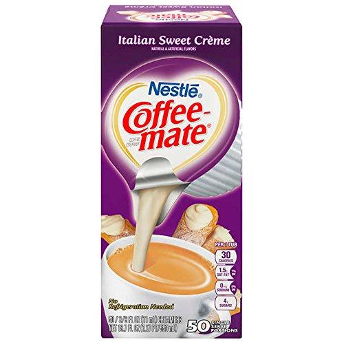 Nestle Coffee-Mate Coffee Creamer Italina Sweet Crème, 6 Pack by Coffee-mate