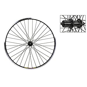 "Wheel Master 26"" MTB Disc Rear Wheel Weinmann ZAC19, Shimano M435, 36H, Black MSW"