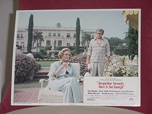 (MOVIE POSTER: JACQUELINE SUSANN'S ONCE IS NOT ENOUGH-LOBBY CARD #2 VG)
