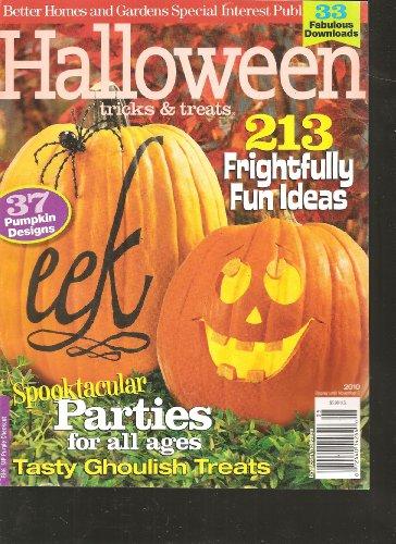 Better Homes and Gardens Halloween Tricks and Treats 2010 Magazine (213 Frightfully Fun Ideas, 2010)]()