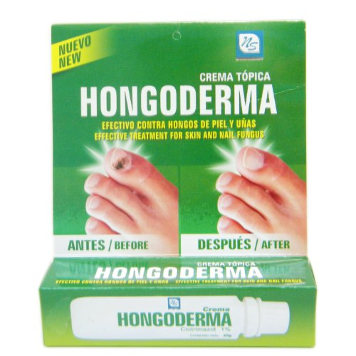 Hongoderma - Skin and Nail Antifungal Cream 20g