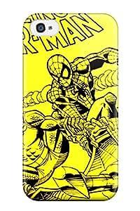 HyrNSQd6072vlFZu ZippyDoritEduard The Amazing Spiderman Cartoon Paint Book Novels Anime Other Durable Iphone 4/4s Tpu Flexible Soft Case