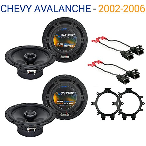 Fits Chevy Avalanche 2002-2006 OEM Speaker Replacement Harmony R5 R65 Package New