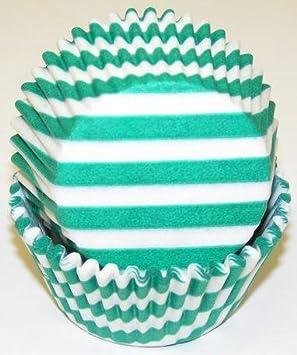 Pastel Stripe Muffin Cup Pink Stripe Cupcake Liners Spring Stripe Cupcake Liners Pastel Stripe Cupcake Liners Qty 40 Stripe Baking Cup