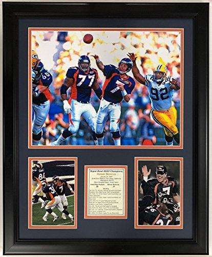Legends Never Die NFL 1997 Denver Broncos Super Bowl XXXII Champions Framed Double Matted Photos, 18