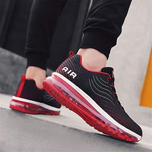 35 Corsa Air 44 Ginnastica Interior Sportivo Scarpe Running Sneakers Casual Da Donna All'aperto Uomo Rosso Fitness Torisky x0f6qRwn