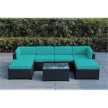 Amazon.com: Ohana 7-Piece Outdoor Patio Furniture Sectional ...