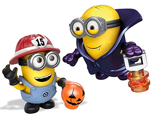 Mega Bloks Despicable Me Halloween Micro Action Figure, Styles May Vary]()