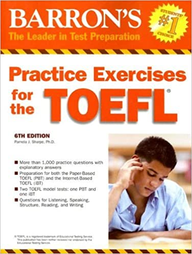Amazon practice exercises for the toefl barrons practice practice exercises for the toefl barrons practice exercises for the toefl 6th edition kindle edition fandeluxe Choice Image