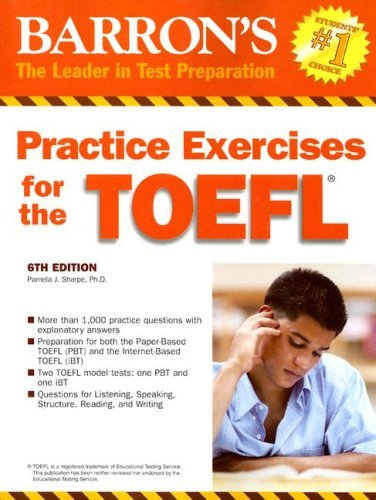 Practice exercises for the toefl test of english as foreign practice exercises for the toefl test of english as foreign language barrons fandeluxe Images