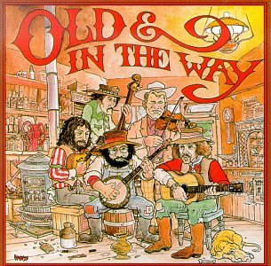 Cover of 1975 first album from Old and In the Way, a bluegrass band featuring Gerry Garcia, David Grisman, Vassar Clements and Peter Rowan, and John Kahn