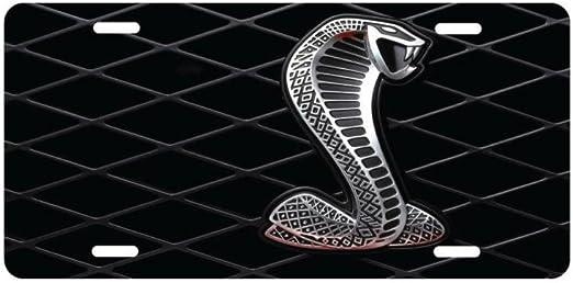 COBRA SNAKE METAL NOVELTY LICENSE PLATE TAG FOR CARS CUSTOM COBRA LICENSE PLATE
